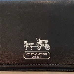 Coach Bags - NWOT Authentic Coach Checkbook Cover